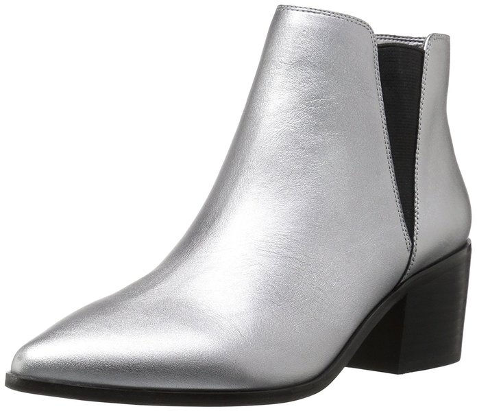 Il Fix Rory Block-Heel Pointed-Toe Chelsea Boot