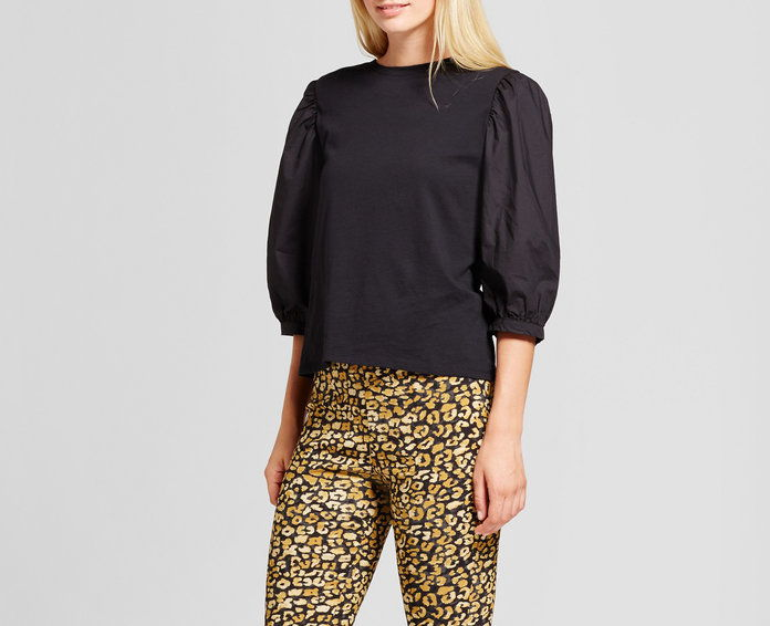 kto What Wear Billow Long Sleeve Woven Top