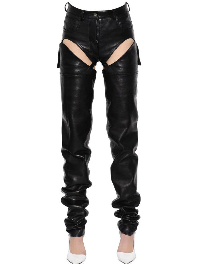 vystrihovačka Transformer Leather Pants