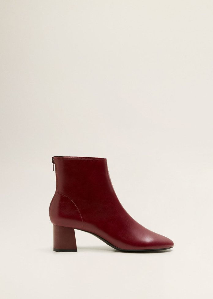Tacco Leather Ankle Boot
