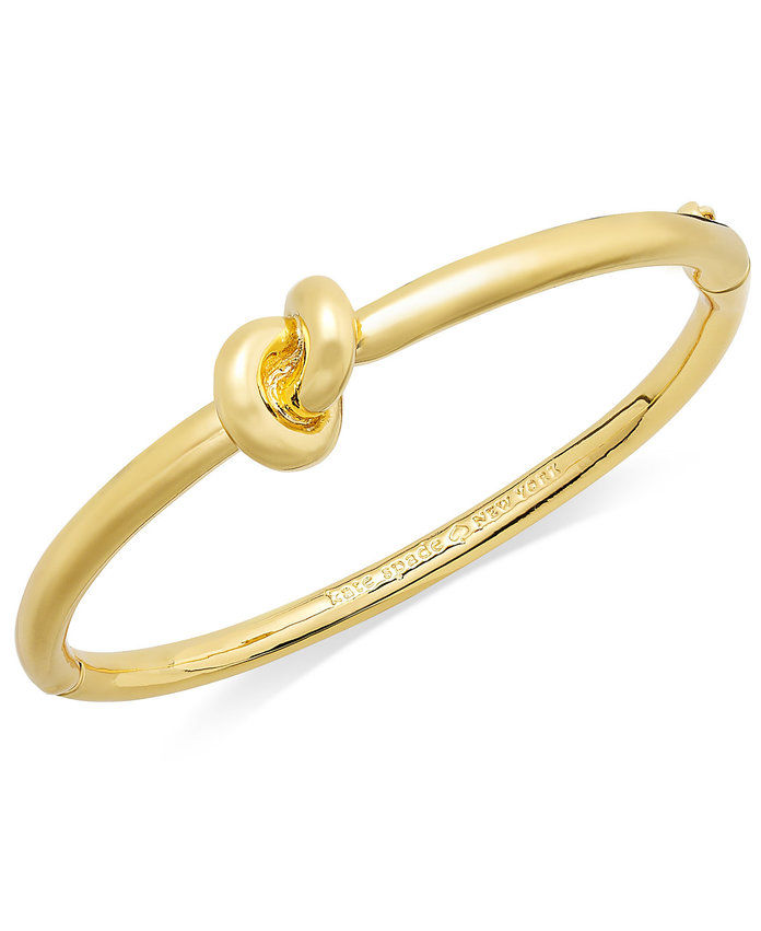 kate spade new york Sailor's Knot Hinge Bangle