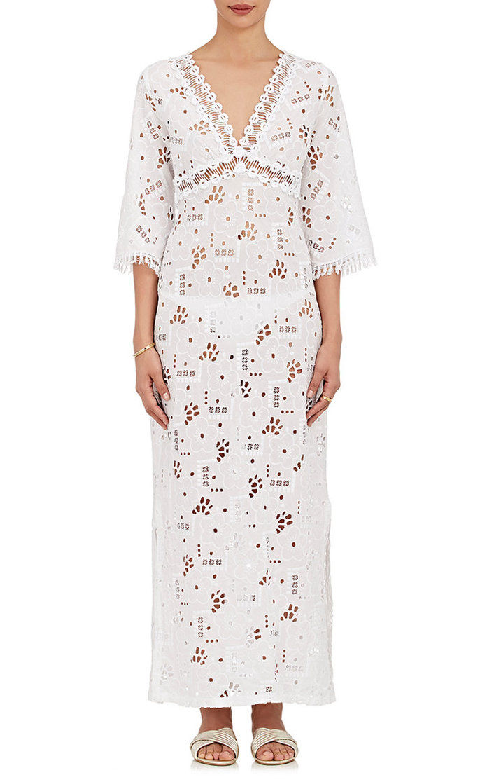 TEMPTASI POSITANO Begonia Cotton Cover-Up Maxi Dress