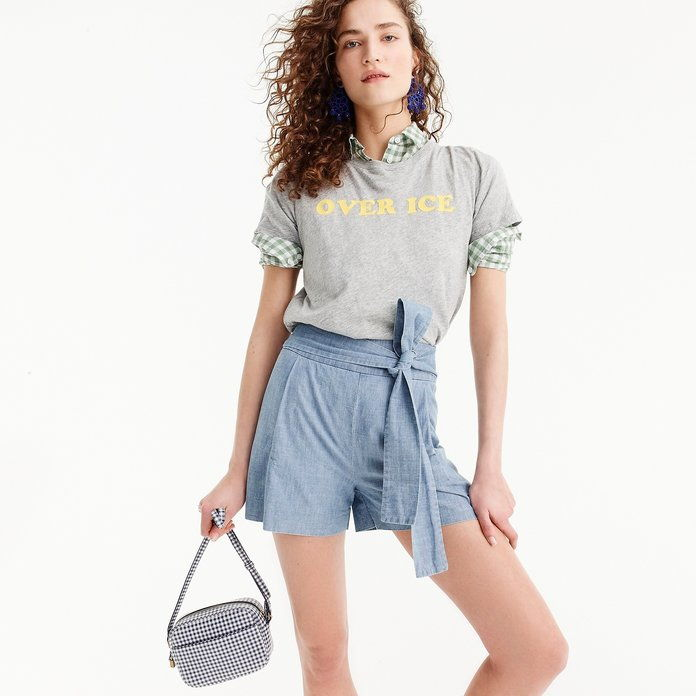 Tie-Vita Short in Chambray