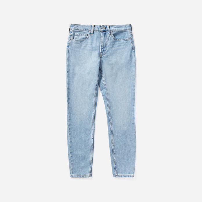 Everlane Light Wash Faded Jeans