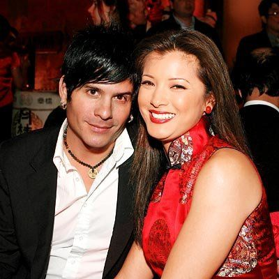 Attrice Kelly Hu and SR-71 front man Mitch Allan