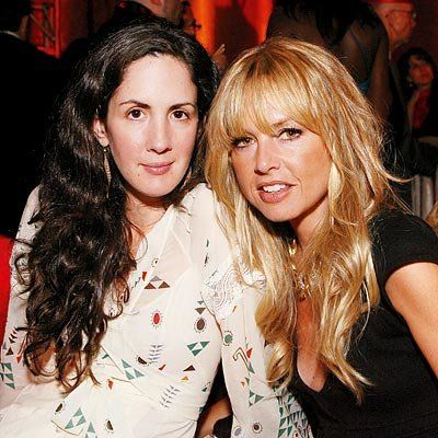 Patricia Herrera and stylist Rachel Zoe