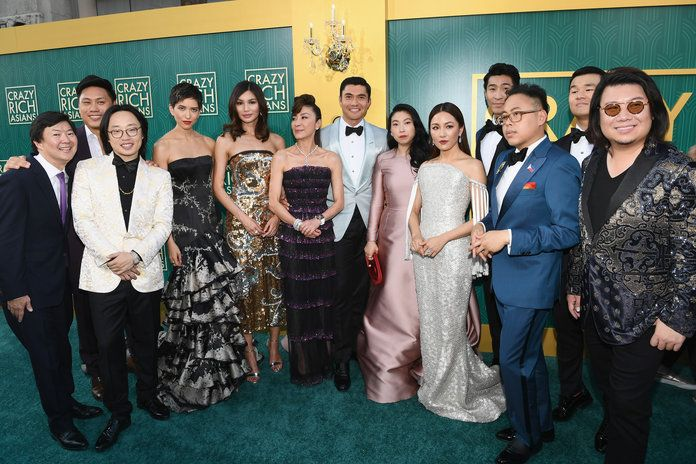Ammonitore Bros. Pictures' 'Crazy Rich Asians' Premiere - Red Carpet