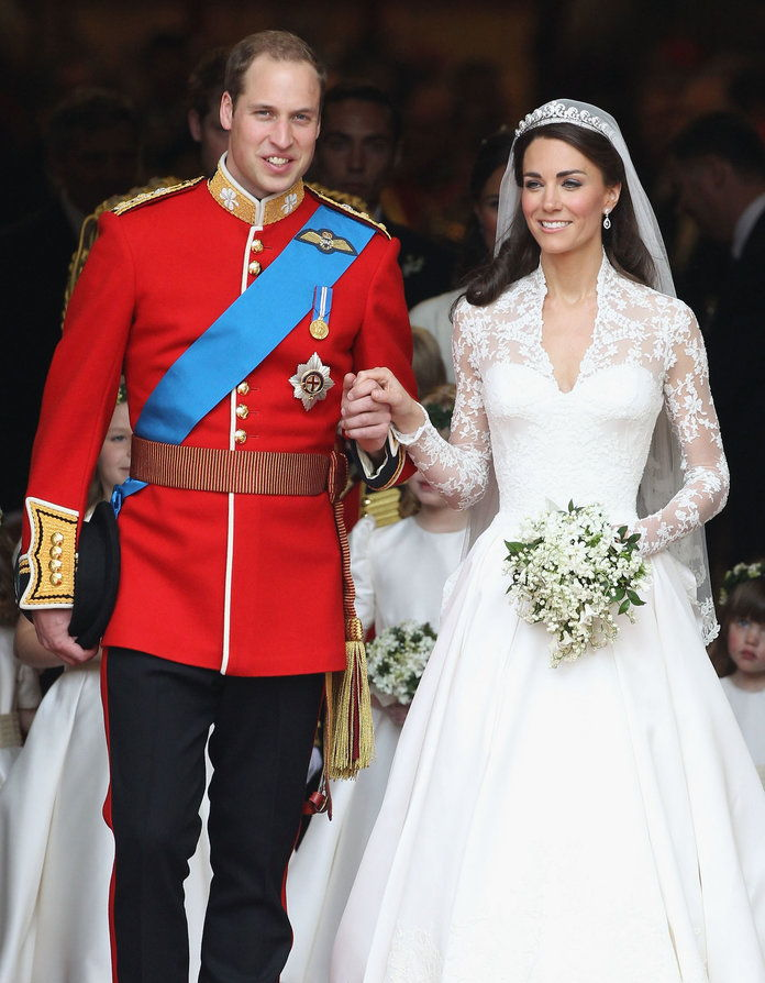 Putera William and Kate Middleton wedding embed