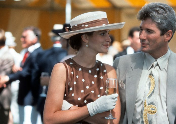 Julie Roberts And Richard Gere In 'Pretty Woman'
