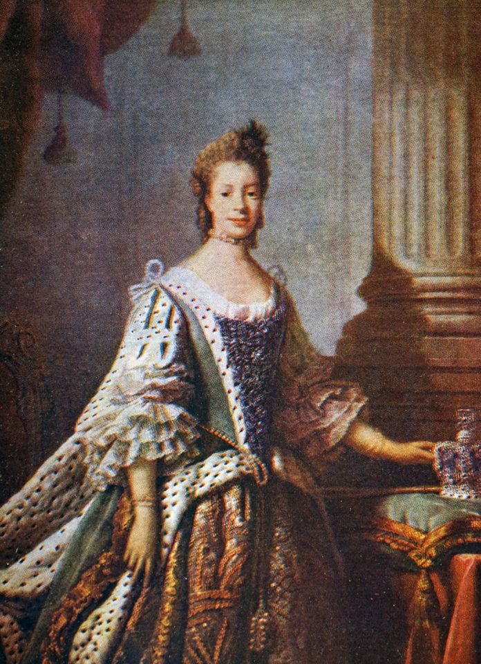 charlotte of Mecklenburg-Strelitz in State Robes.